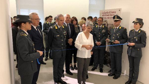 Grande Guerra:via a mostra Gdf a Trieste