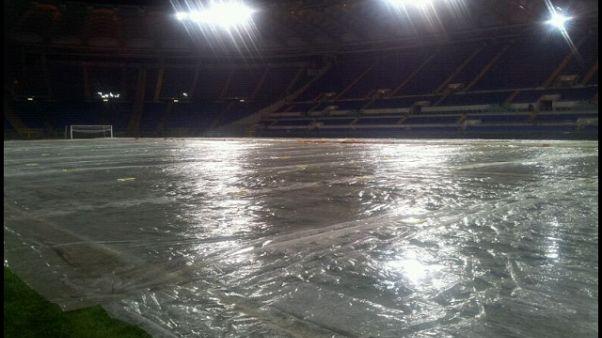 Lazio, la gara con l'Inter si gioca