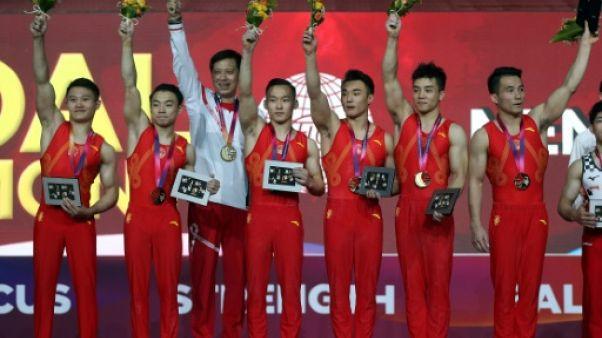 Mondiaux de gymnastique : les Chinois en or par équipes