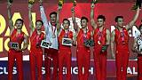 Mondiaux de gymnastique: la Chine sacrée au bout du suspense