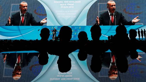 Erdogan opens new 'Istanbul Airport', Turkey's biggest