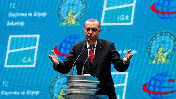 """أردوغان يفتتح """"مطار اسطنبول"""" الجديد الأكبر في تركيا"""