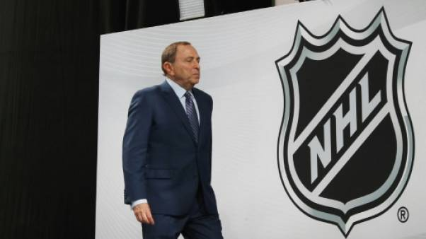 Le commissaire de la NHL Gary Bettman à Dallas le 22 juin 2018