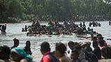 Mexique: la caravane de migrants a repris sa route