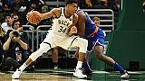 NBA: Antetokounmpo manquera le match face aux Raptors
