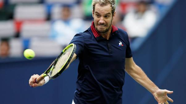 Tennis - Gasquet downs erratic Shapovalov in Paris
