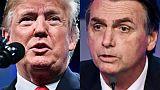 Brésil: Trump espère que Bolsonaro sera un allié de poids sur la scène internationale