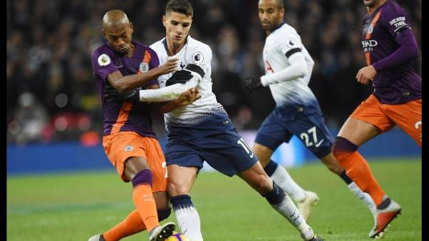 Premier: City batte Tottenham, torna 1/o