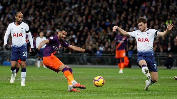 Mahrez seals points for Man City at Tottenham