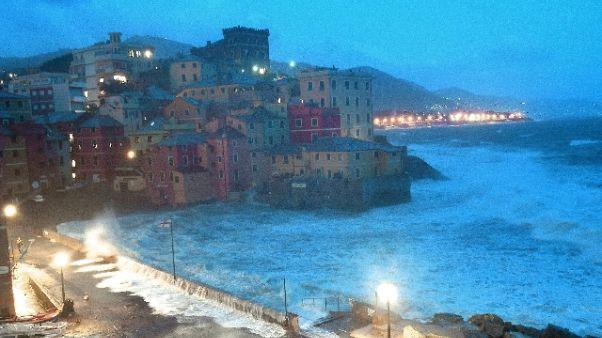 Maltempo, Genova: scuole restano chiuse