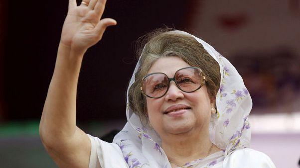 محكمة في بنجلادش تضاعف حكما بسجن رئيسة الوزراء السابقة خالدة ضياء