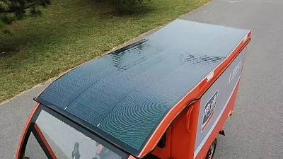 Running without charging: Hanergy Offers New Solar-powered Express Delivery Cars to China's Top Delivery Companies