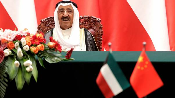 Kuwait emir hopes improving oil prices will not obstruct economic reforms
