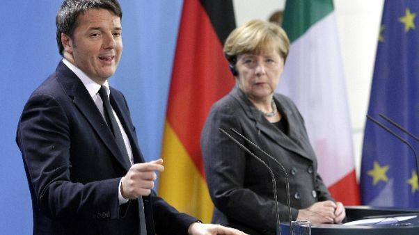 Renzi, maggioranza vuole isolare Paese