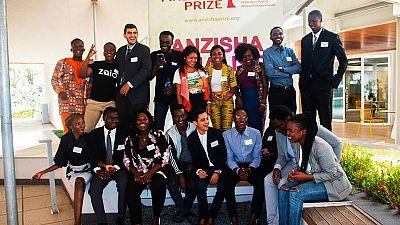 Women Shine at the 2018 Anzisha Prize Awards