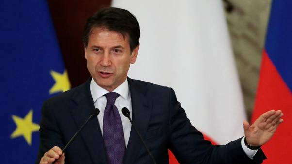 Italy PM says weak GDP data justifies govt's expansionary budget