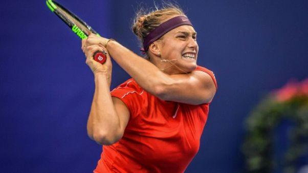"""Tennis: Sabalenka """"s'excuse"""" après s'être énervée contre un ramasseur de balles"""