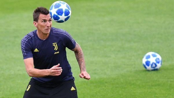 Juventus: rientra Mandzukic