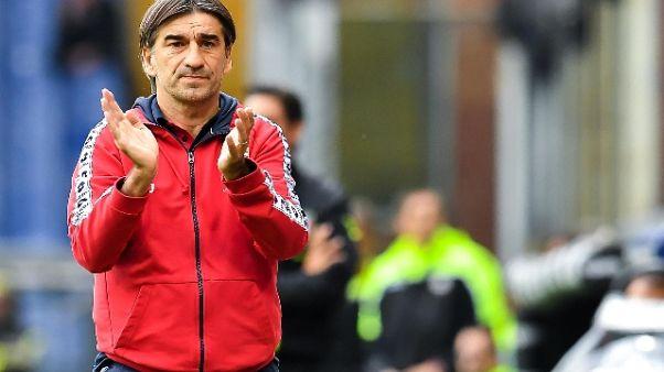 Genoa: Juric, voglio fare male al Milan