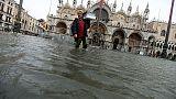 Acqua alta in Basilica San Marco, danni