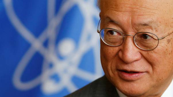U.N. nuclear chief returns to work after unspecified medical treatment