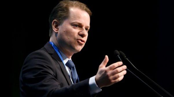 Le directeur général de l'AMA Olivier Niggli à Lausanne le 21 mars 2018