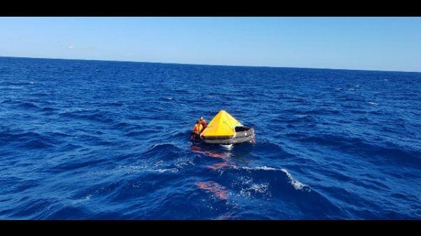 Guardia costiera: esercitazione a Olbia