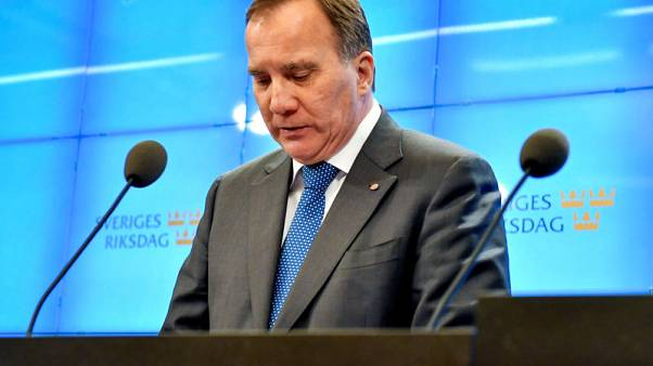 Swedish caretaker PM says speaker's talks made progress in breaking deadlock