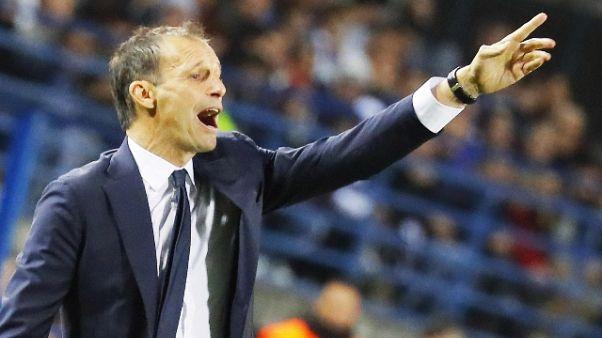 Allegri, Juve rispetti Inter e Napoli