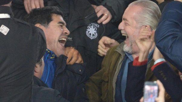 De Laurentiis a Maradona, ti aspetto