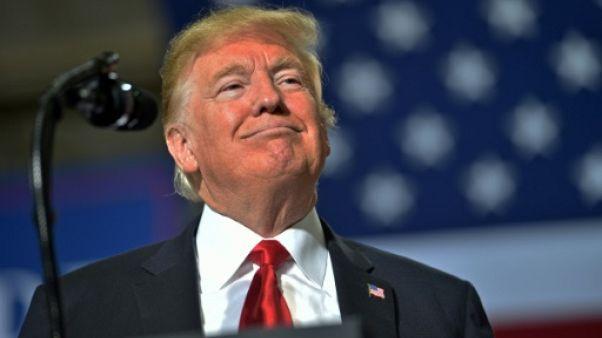 Le président Donald Trump le 19 octobre 2018 à Mesa, en Arizona