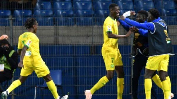 Coupe de la Ligue: Nantes crée la surprise en écartant Montpellier