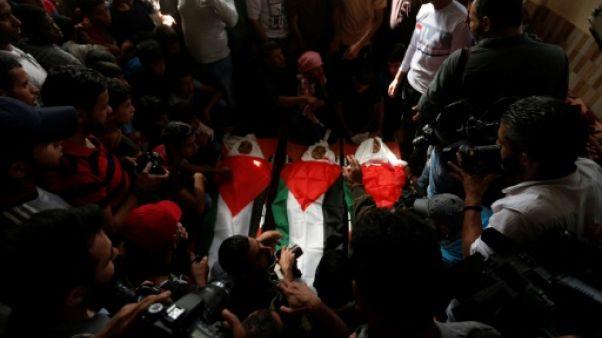 Israël dit n'avoir pas su qu'une frappe meurtrière à Gaza visait des mineurs