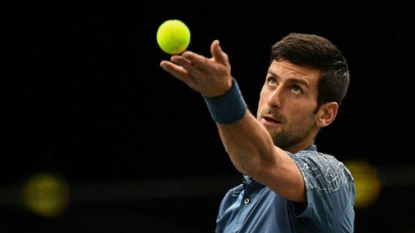 Masters 1000 Paris: Djokovic idéalement lancé