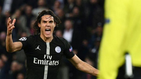 """Paris SG: Cavani prêt à revenir contre Lille pour être """"à 100% contre Naples"""""""