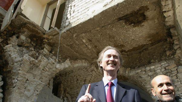 النرويجي بيدرسن مبعوثاً أممياً في سوريا خلفاً لدي مستورا