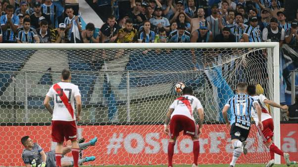 Late comeback at Gremio takes River into Libertadores final