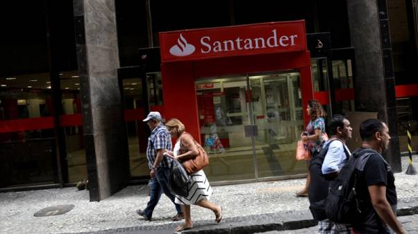 Santander posts 36 percent increase in third quarter net profit on Brazil and Spain