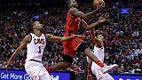 NBA: Toronto rebondit, Cleveland se réveille