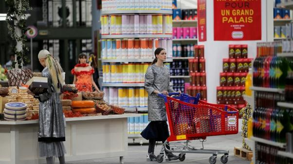 French inflation stable in October yet near multi-year highs