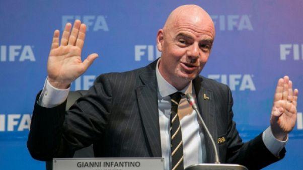 Fifa: le président Infantino envisage une Coupe du monde à 48 dès 2022