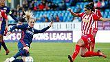 Ligue des champions Dames: Lyon et le PSG ont les quarts en vue