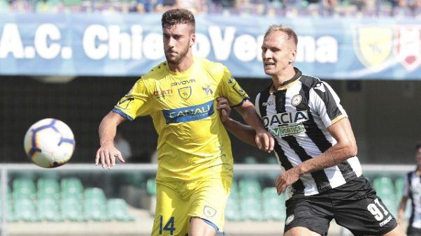 Udinese, Teodorczyk operato di ernia