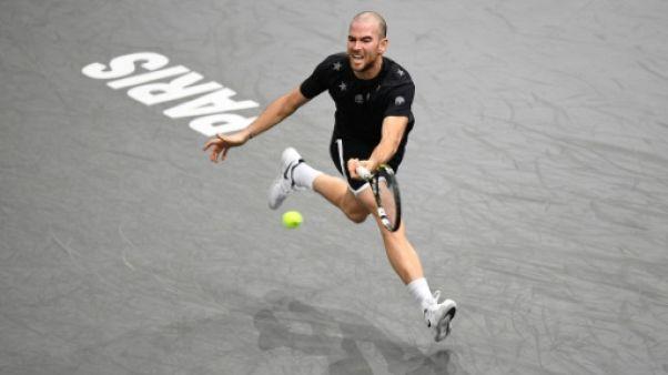 Masters 1000 Paris: Mannarino cale contre Nishikori