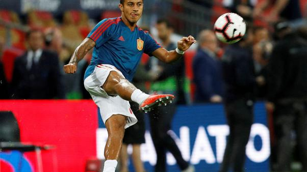 Bayern's Thiago ruled out for weeks with ankle injury - club