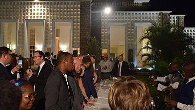 Visite à Brazzaville de M. Jean-Yves Leconte, sénateur des Français établis hors de France
