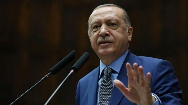 Turkey to produce long-range air defence missiles, Erdogan says