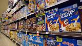 Kellogg cuts full-year profit outlook, shares tumble