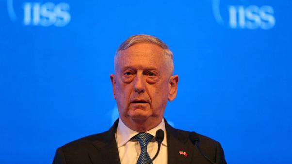 Mattis rejects criticism of sending U.S. troops to border