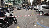 Sparatoria a Taranto, ferito giovane